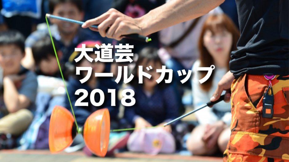 大道芸ワールドカップが開催!世界一の大道芸人が決定する!