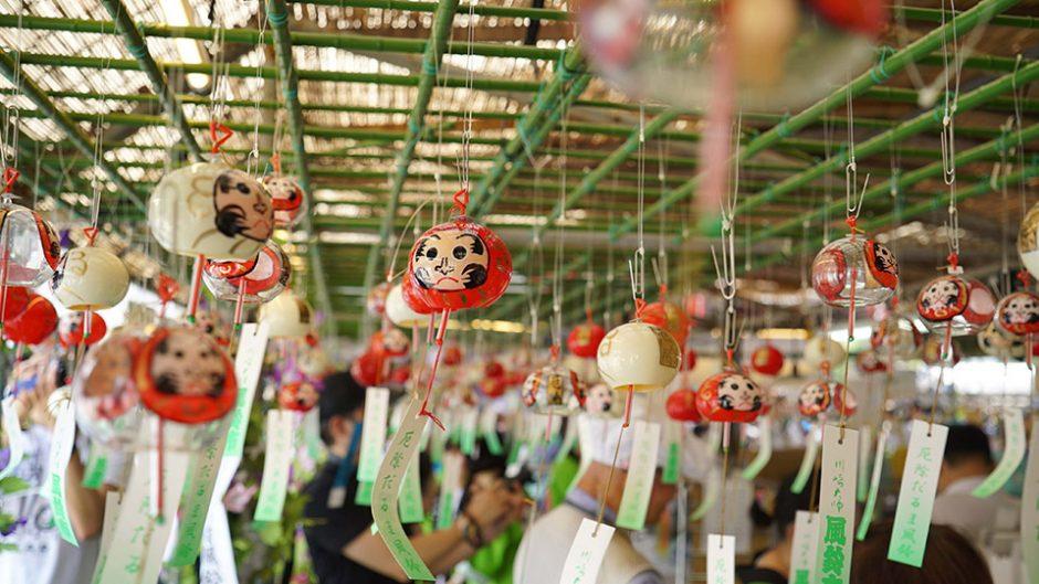 全国最大規模の風鈴の祭典!『第23回 川崎大師風鈴市』が2018年も開催
