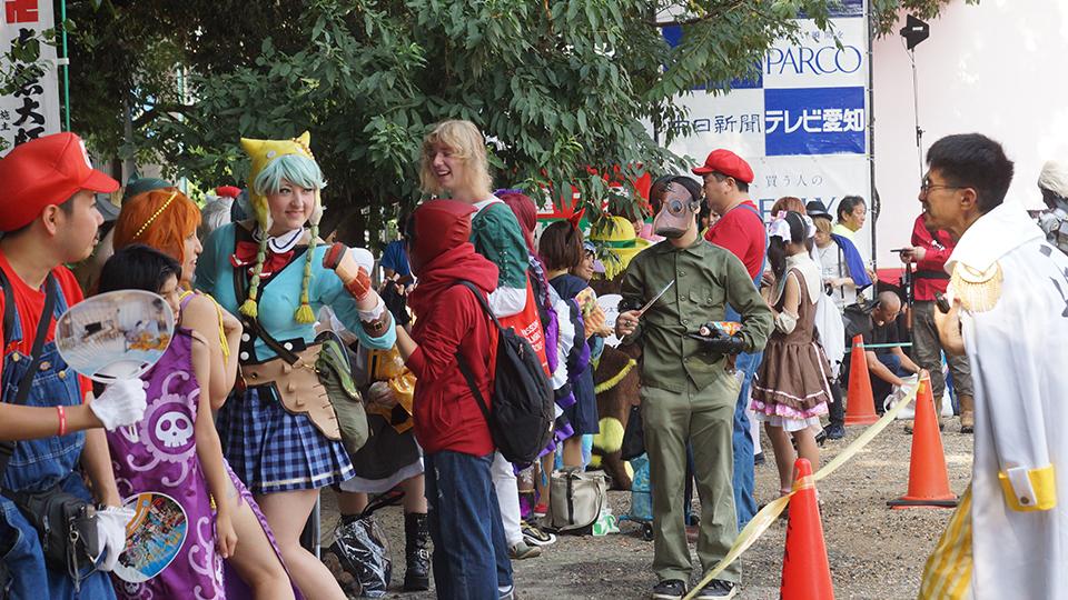 大須夏祭り会場