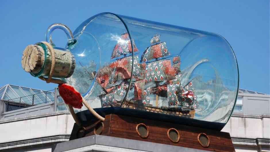 ボトルの中には夢とロマンが詰まっている! 名古屋海洋博物館で「ボトルシップ展」開催!