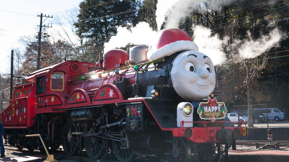 大井川鐡道で『DAY OUT WITH THOMAS クリスマス特別運転2018』が開催