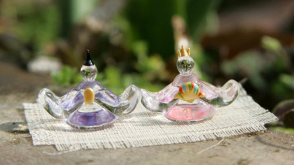 繊細な硝子でできた雛人形に出会える!「硝子雛展Ⅳ -ガラスのおひなさま達-」