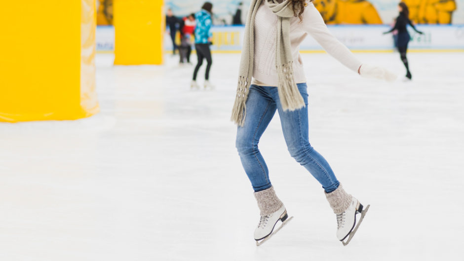 ナガシマスパーランドでアイススケートリンクがオープン