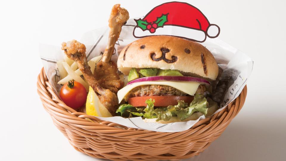 ポムポムプリンカフェ クリスマスメニュー