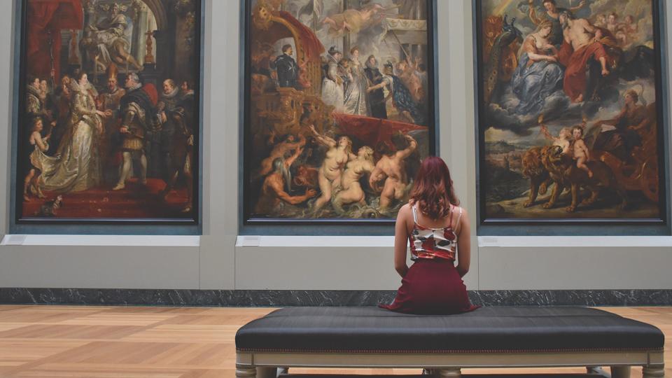 ルーヴル美術館の銅版画展