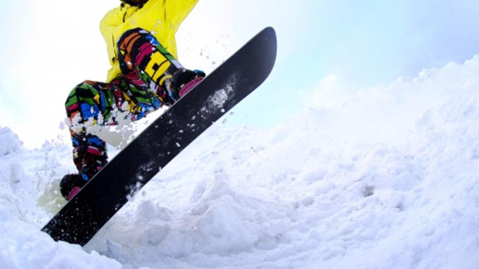 めいほうスキー場で日本最大のスノーボード合同試乗会を開催