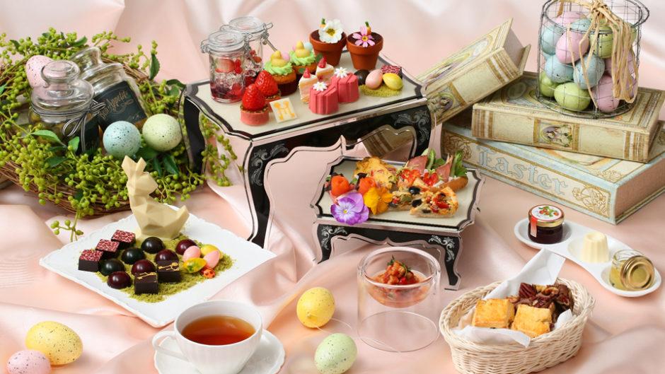紅茶飲み放題のアフタヌーンティーでイースターを楽しもう