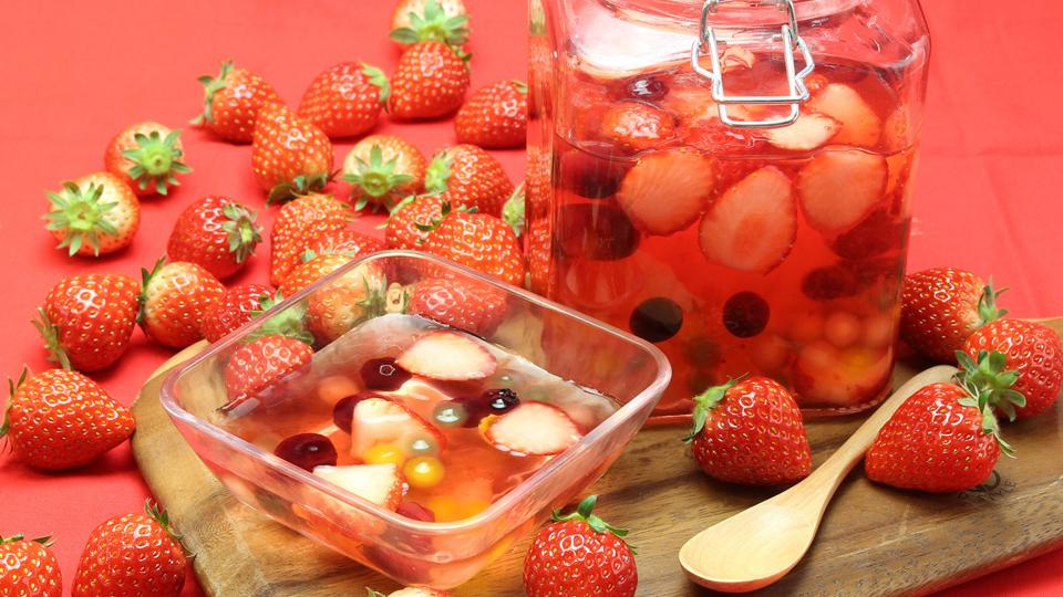 スイパラで「苺」食べ放題