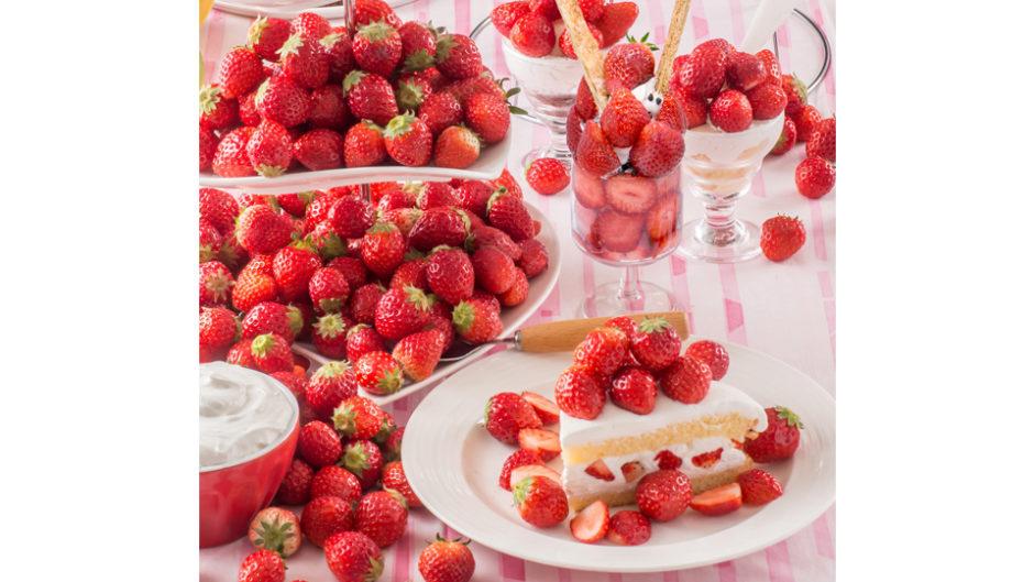 スイパラで苺が食べ放題!スプリングフェアも同時開催