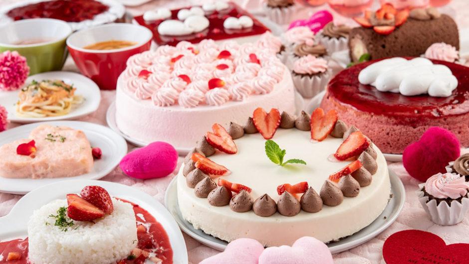限定スイーツは恋の味?スイパラでバレンタインフェア開催