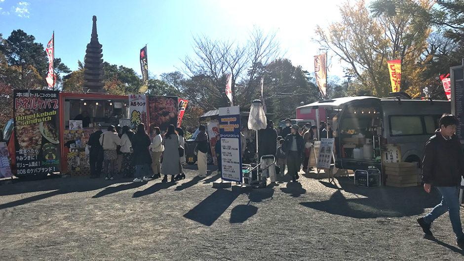 天下泰平マルシェがGWに開催!岡崎市のうまいものが岡崎公園に勢ぞろい!