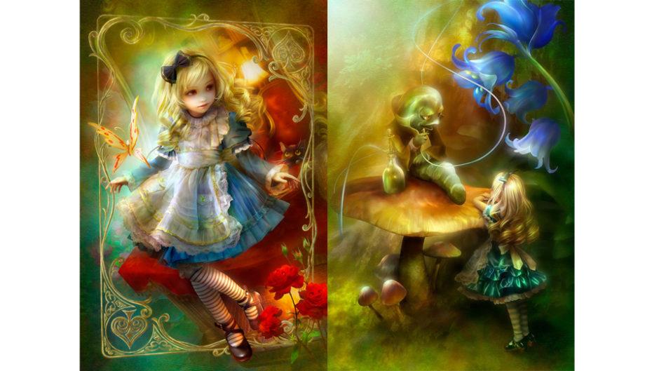 この透明感は実際に見てほしい!「SHUの描くアリスの世界展」開催!