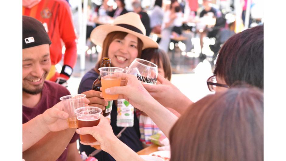 「岐阜ビール祭り~柳ヶ瀬ビッグパブ2019~」開催! 岐阜駅前がまるでビールの本場ドイツのような賑やかな風景になる