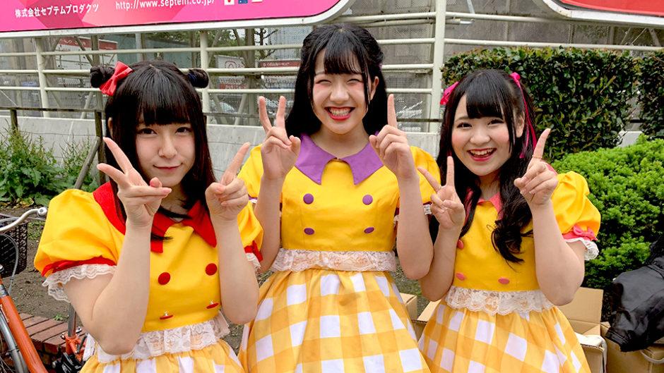 アイドル教室の妹ユニット「ハッピー&ハッピー」がワンマンライブを開催!