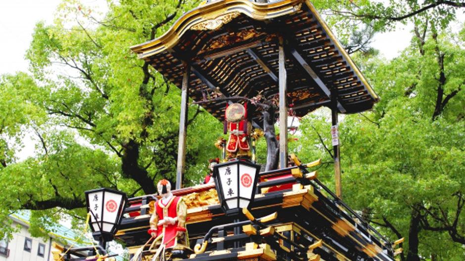 徳川園山車揃えで見る、迫力満点5輛の山車