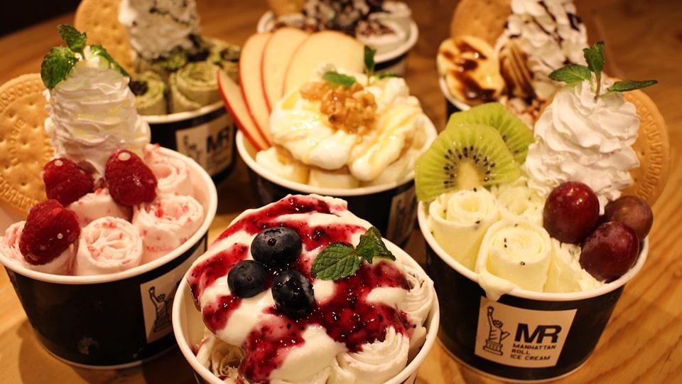 マンハッタンロールアイスクリーム