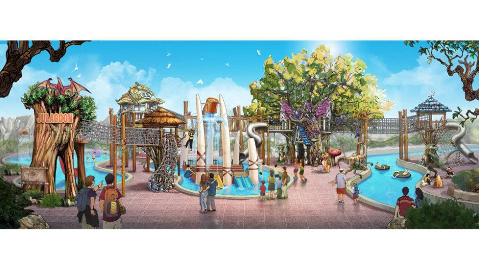 ラグーナで新プール施設「ジュラグーン」が7月13日OPEN!