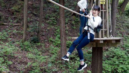 岐阜県百年公園で「冒険の森inせき」が7月13日オープン!
