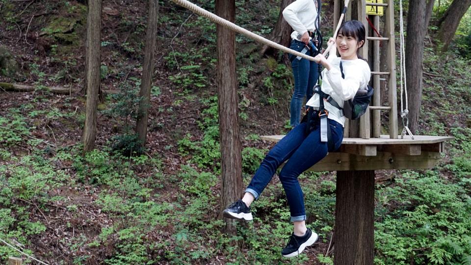 冒険の森 in せき