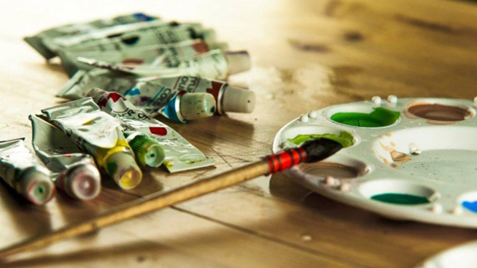 欲しかった画材も、初めて見る画材も!オアシス21銀河の広場に大集合♪