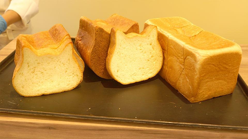 新オープン ねこねこ食パン