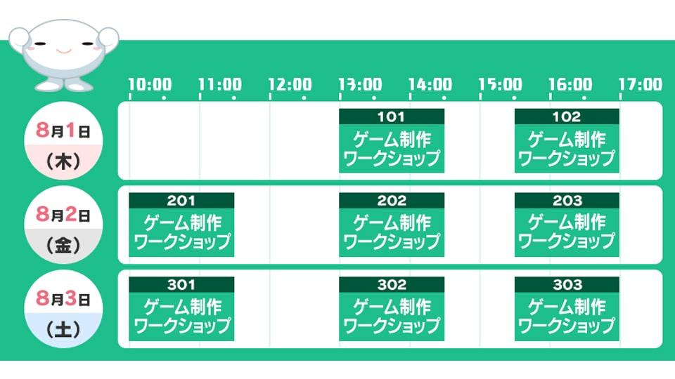 チュウキョ~くんの夏休みプログラミング・ラボ2019