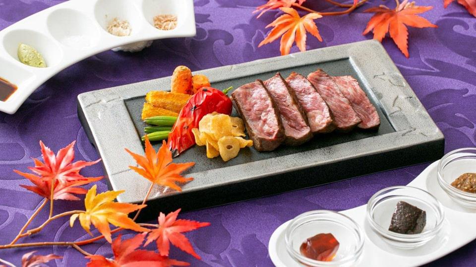 ストリングスホテル 八事NAYAGO 伊勢志摩の極上素材 鉄板焼きディナー