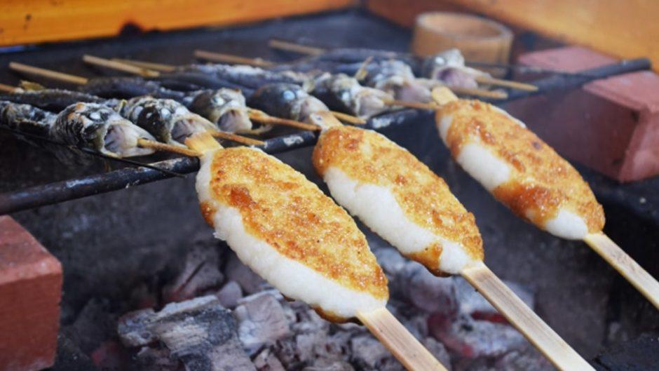 恵那で松茸や五平餅、郷土料理を食す!「ENAみのじのみのり祭」