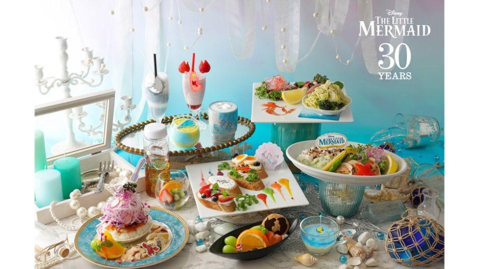 「リトルマーメイドカフェ in OH MY CAFE」名古屋パルコで開催!リトル・マーメイドの世界をコラボカフェで体感!