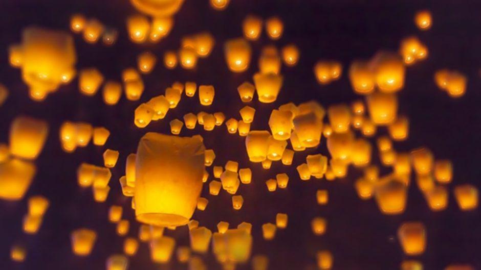 「熊野古道センタースカイランタンフェスティバル」初開催!熊野古道の夜空をランタンが彩る