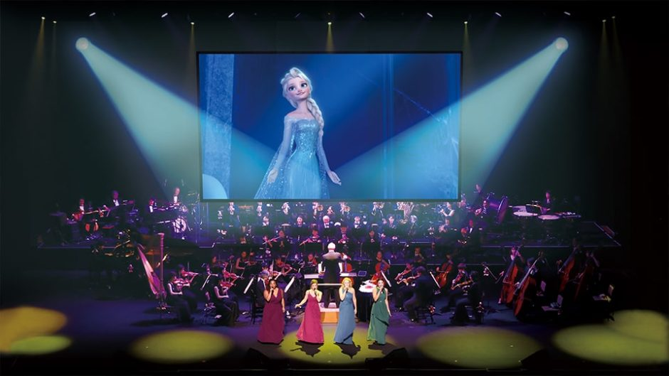 ディズニーアニメの「ザ・コンサート」