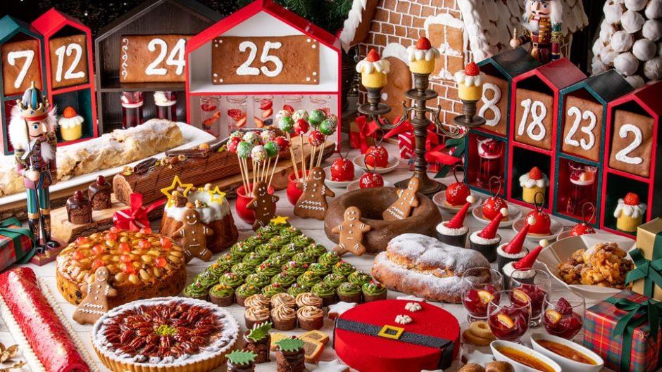 Xmasケーキ&デザートビュッフェ!「スイーツクリスマスマーケット」