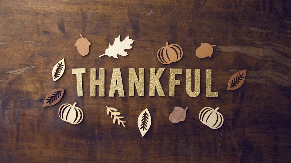 ありがとう感謝祭