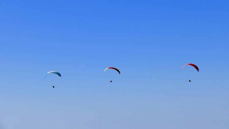 空の旅を楽しみませんか?池田山パラ・ハンググライダー発進基地をご紹介!