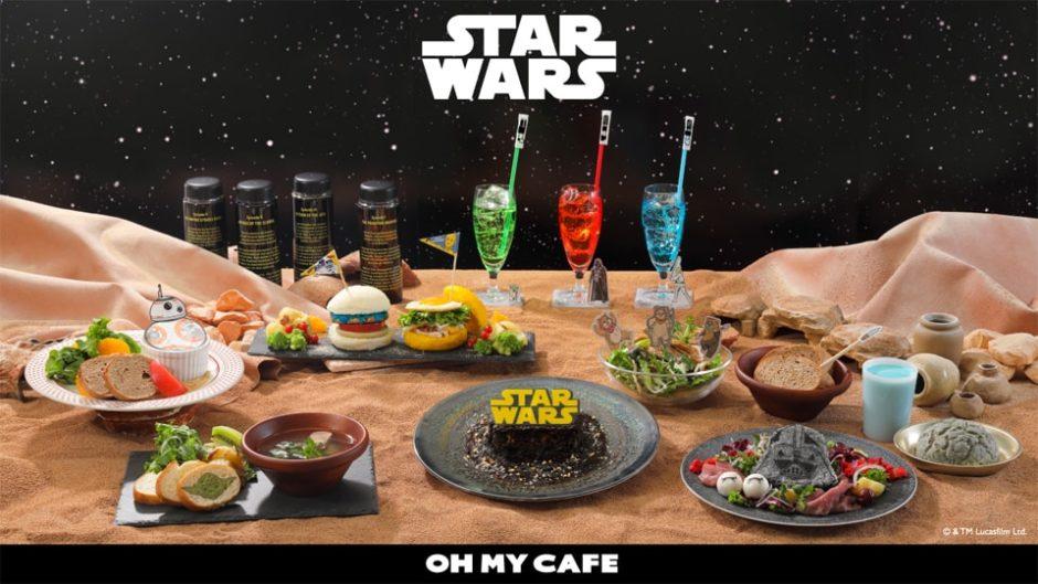 名古屋パルコに「スターウォーズカフェ in OH MY CAFE」が限定オープン