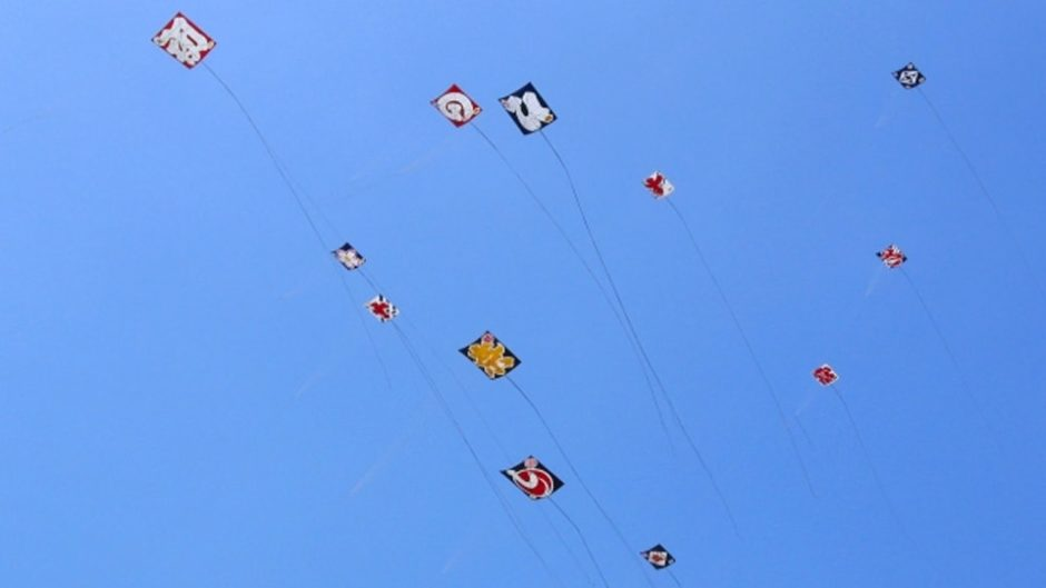 様々な凧が一宮の大空を舞う!「138タワーパーク凧あげ祭り」