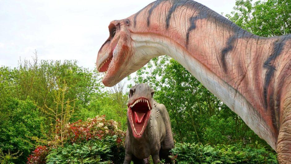 名古屋でリアルな恐竜たちと遭遇できる!「ディノアドベンチャー名古屋」