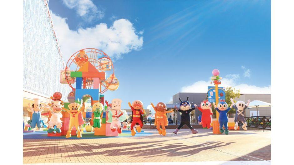 4月1日から新エリアオープン!名古屋アンパンマンこどもミュージアム&パーク
