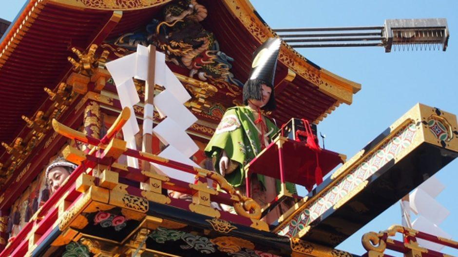 祭屋台は国の重要有形民俗文化財!「春の高山祭」開催