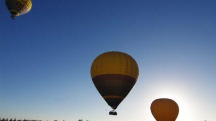 大空を飛ぶ!!熱気球体験「HEAT BALLOON物語」