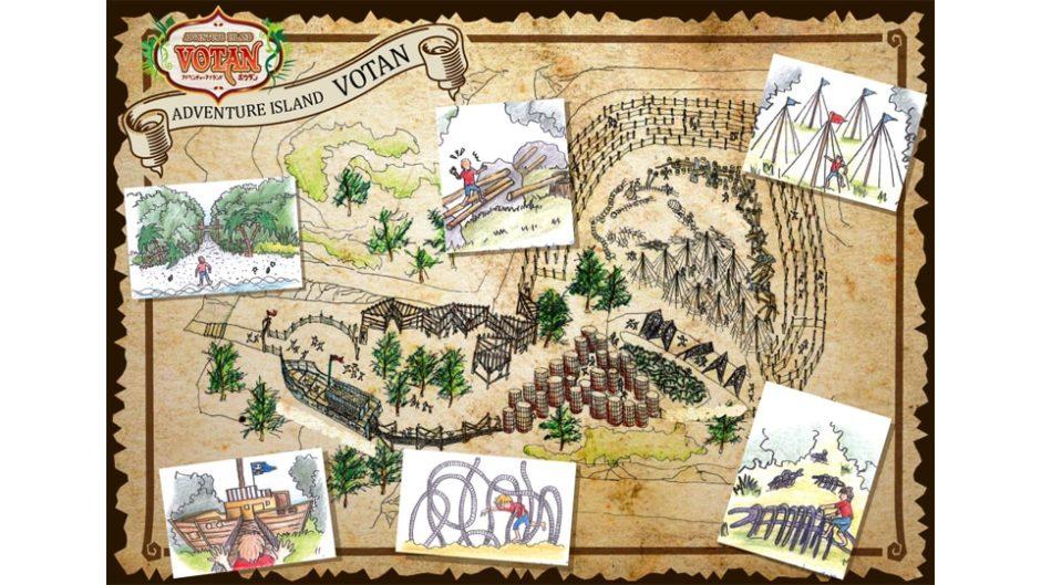 初島でいざ冒険の旅へ出かけよう!「アドベンチャーアイランドVOTAN」