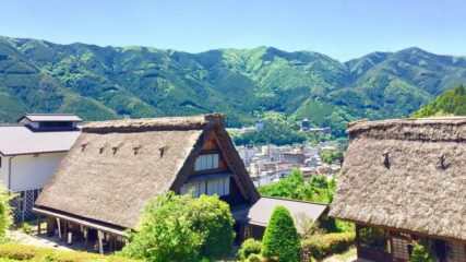 まるで田舎を訪れたような気分を体感!「下呂温泉合掌村」