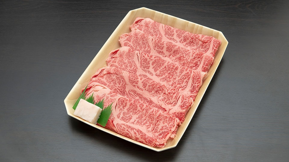 飛騨牛肩ローススライス(すき焼き、しゃぶしゃぶ用 500g)