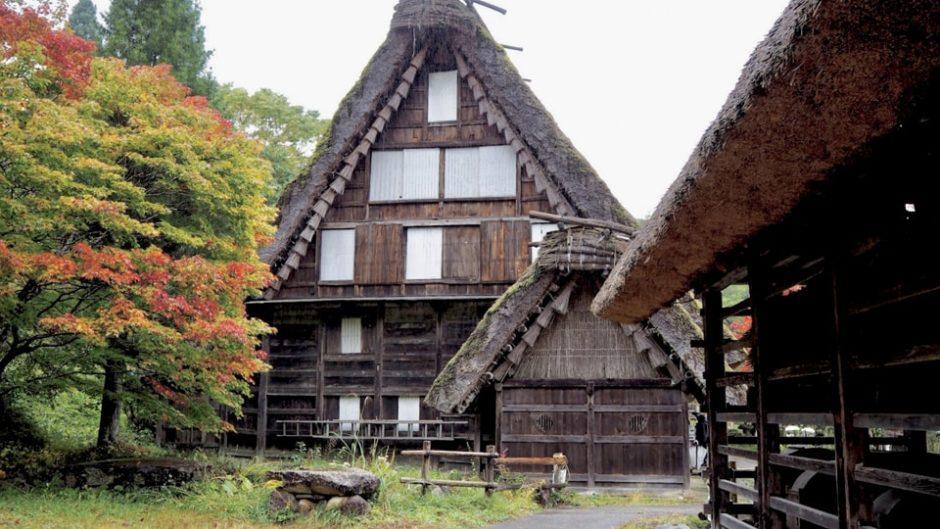 飛騨高山に古くからある風景が広がる「飛騨民俗村・飛騨の里」