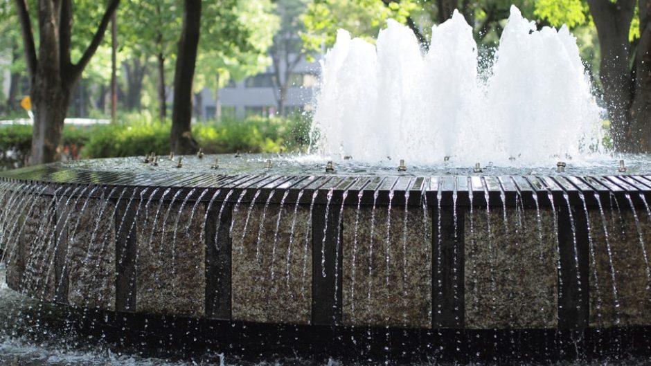 名古屋城が見える公園!「名城公園」
