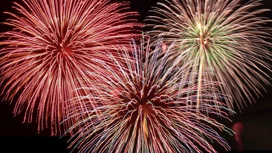 2020年の「長島温泉 花火大競演」はコロナ終息の願いを込めて!
