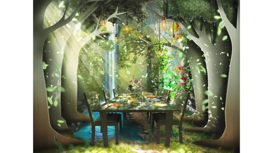 「TREE by NAKED tajimi」でアートと食が融合した非日常体験♪
