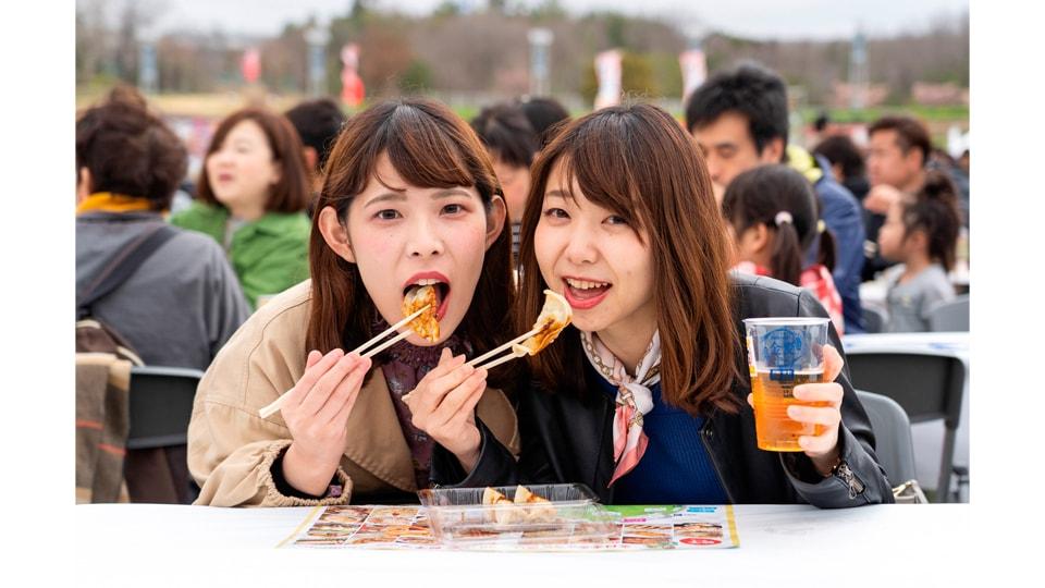 全日本ぎょうざ祭り2020秋 in モリコロパーク