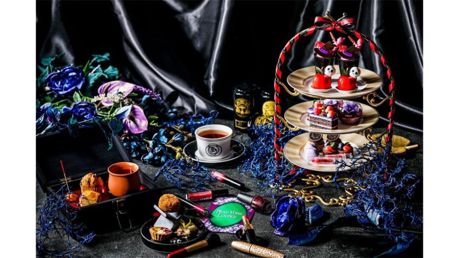 ストリングスホテル名古屋で『ダークプリンセスアフタヌーンティー~囚われの白雪姫~』が販売