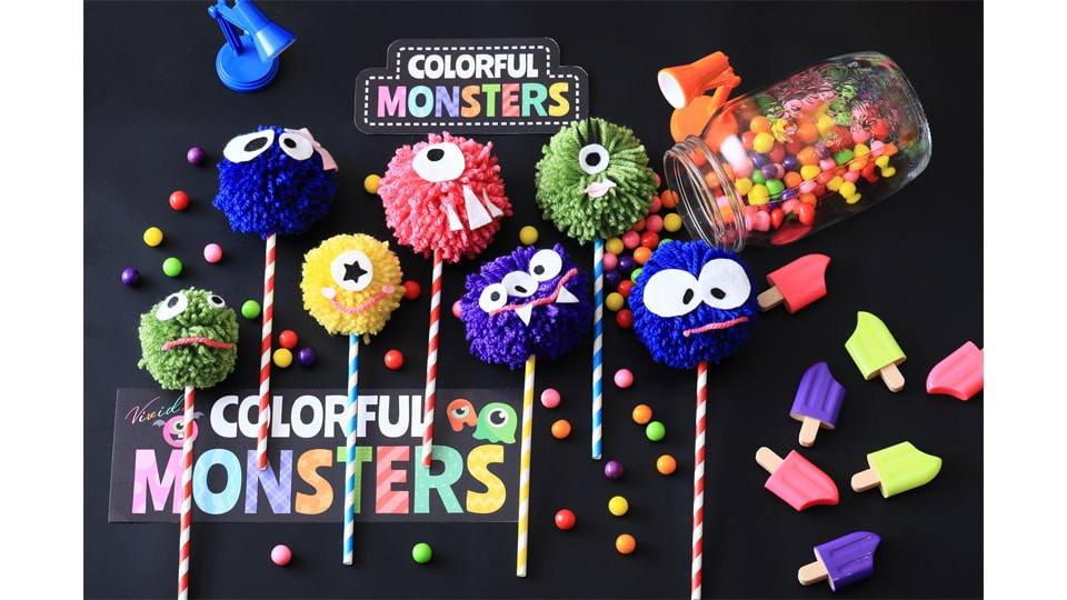 VIVID COLORFUL MONSTER PARTY